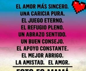 abrazo, apoyo, and frases español image