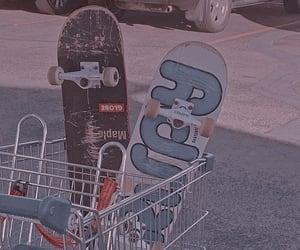 aesthetic, skate, and skateboard image