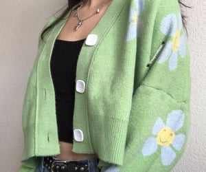 outfit, clothes, and green image