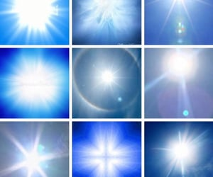 archive, blue, and bright image