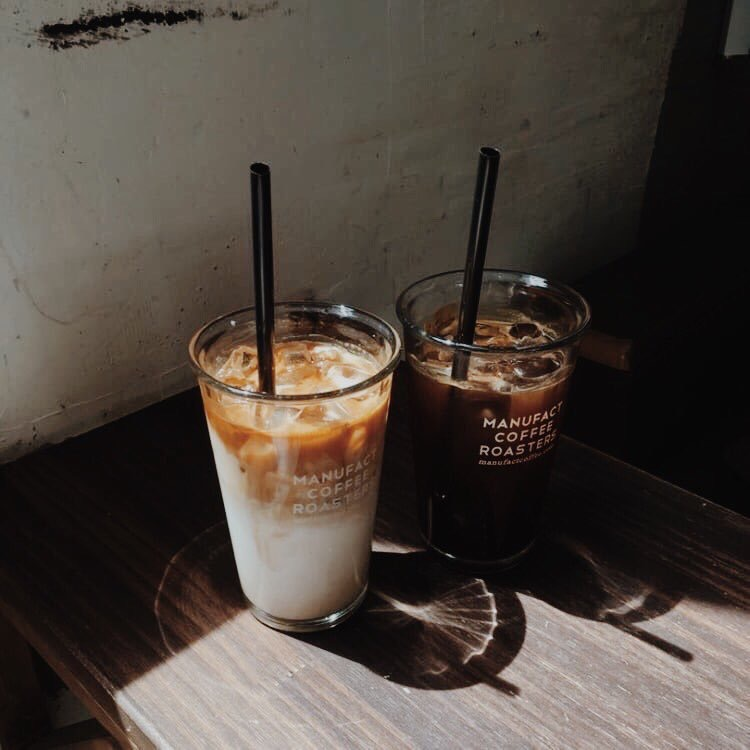 coffee, drink, and iced coffee image