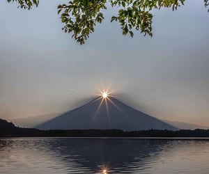 destination, mount fuji, and peak image