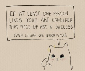 cat and success image