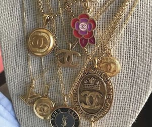 necklace, chanel, and jewelry image