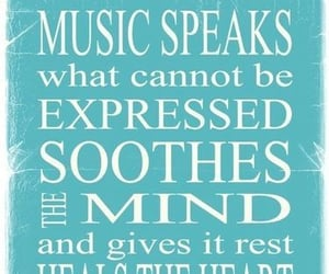 comfort, music, and words image