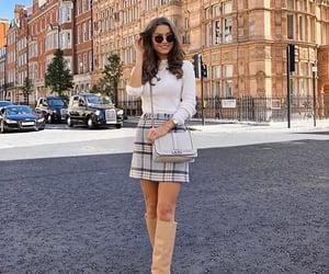 bag, fall fashion, and model image