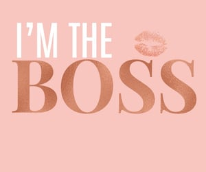 boss, pink, and wallpaper image