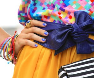 fashion, nails, and colors image