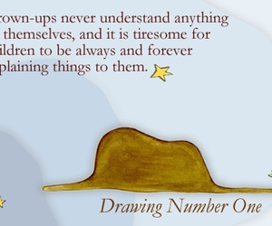 little prince and quote image