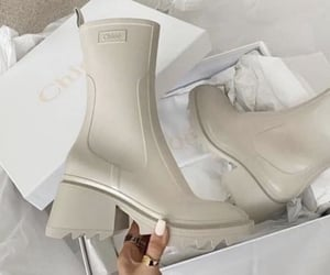 beige, chic, and rainy day image