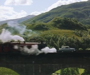 chamber of secrets, flying car, and harry potter image