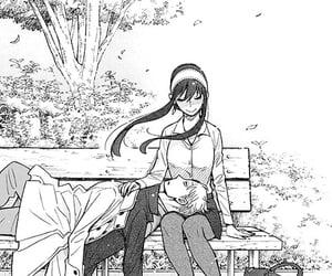 manga, myedits, and spy x family image