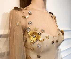 dress, fashion, and prom dress image