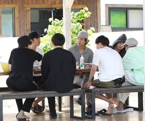 jin, jhope, and kim namjoon image