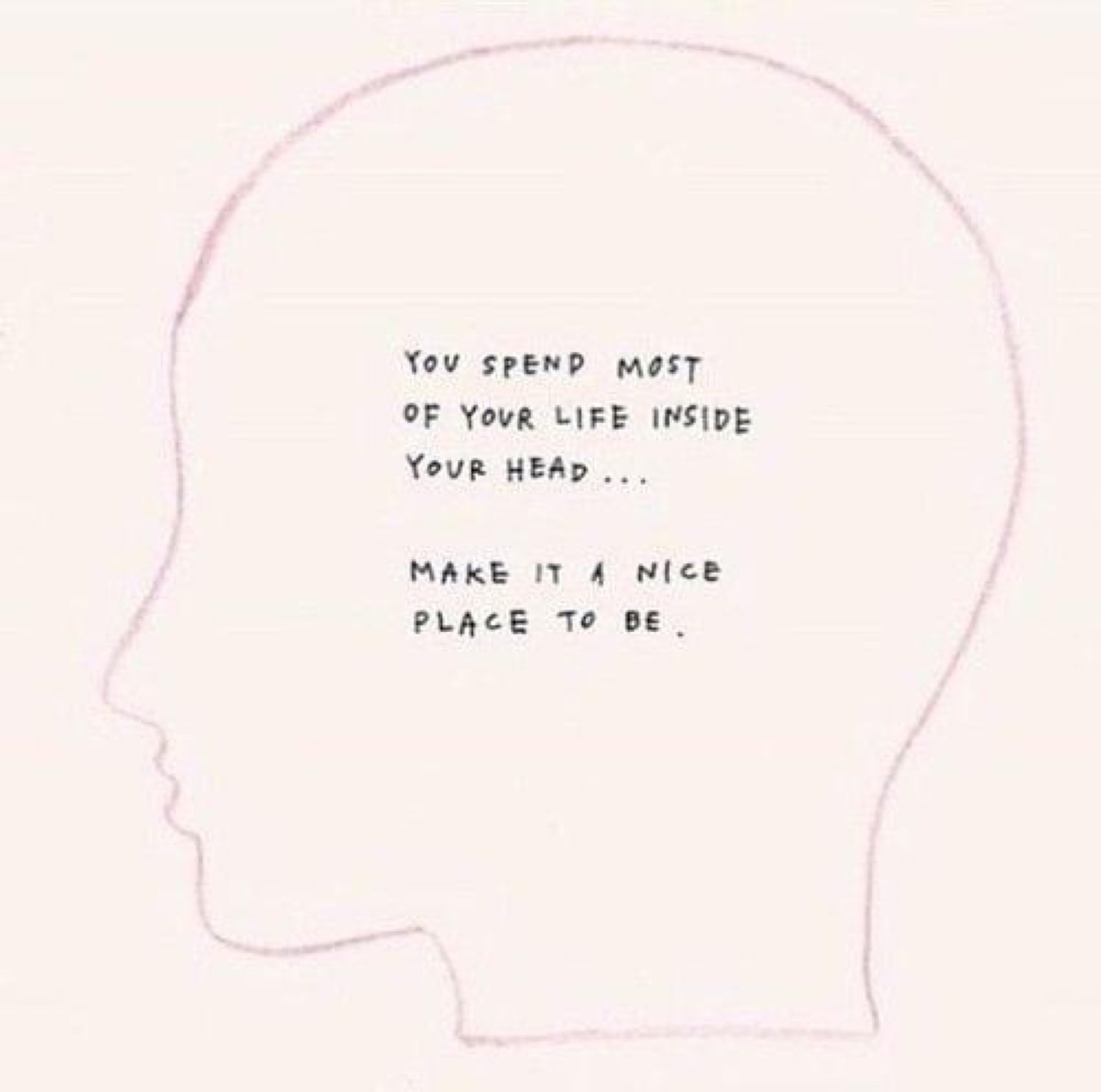 quotes, life, and head image
