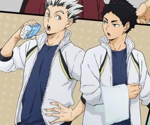 anime, haikyuu, and bokuto image