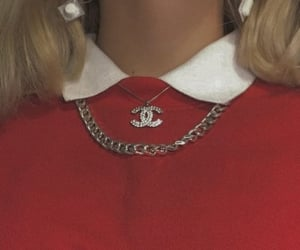 chanel, red, and aesthetic image