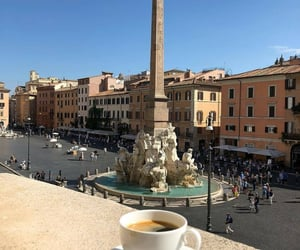 city, coffee, and italy image