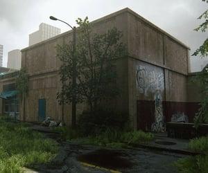 abandoned, city, and brick image