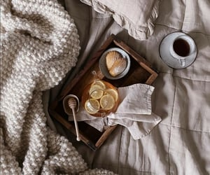 honey, lemon, and tea image