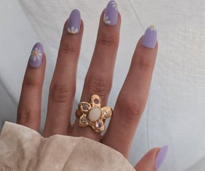 nails and ring image