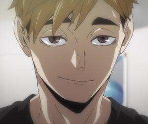 anime, haikyuu!!, and inarizaki image