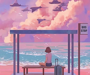 aesthetic, animation, and anime image