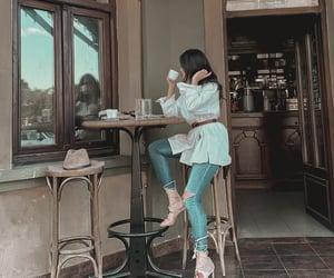 cafe, inspo, and shirt image