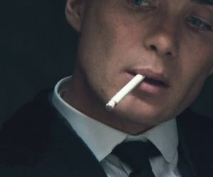 bbc, blue eyes, and cigarette image