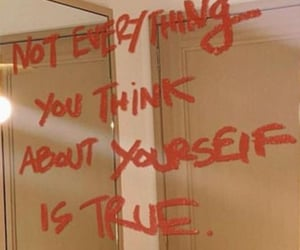 quotes, mirror, and self love image