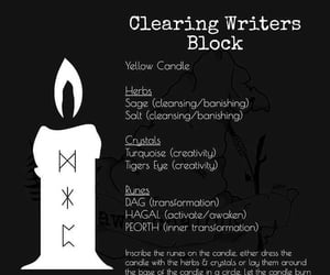 magick, writer, and spell image