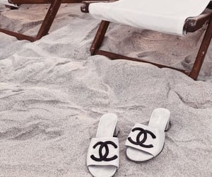 accessories, beach, and chanel image
