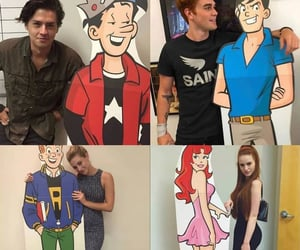 riverdale, madelainepetsch, and colesprouse image