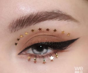beauty, eyes, and eye-liner image
