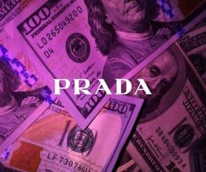 Prada, money, and wallpaper image