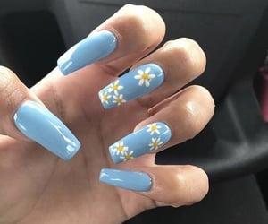 nail polish, nail polish nails, and nails image