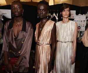 racial diversity and fashion month image
