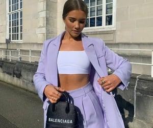 Balenciaga, purple, and style image