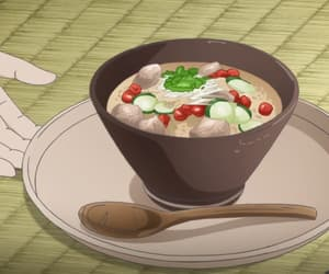 anime, anime food, and anime gif image