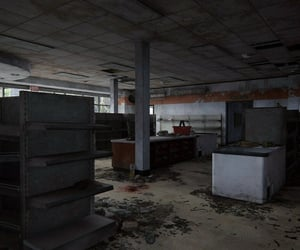 abandoned, dystopian, and last of us image