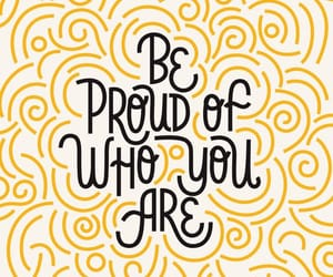 be proud of who you are - ART PRINT - inspirational quotes prints - quote,inspirational quotes prints,minimalist wall art - AMERICANPOSTERS