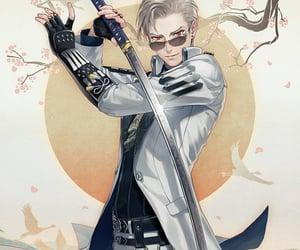 anime, sword, and touken ranbu image