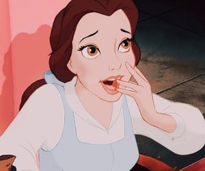 aesthetic, animation, and belle image