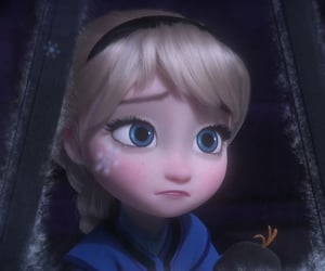 blonde, disney, and winter image