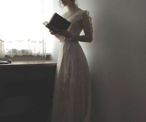 book and dress image