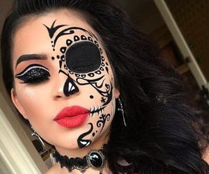 entertainment, halloweenmakeup, and Halloween image