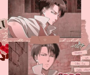 aesthetic, levi, and snk image