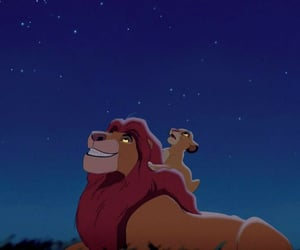 mufasa, disney, and simba image