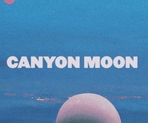 background, canyonmoon, and moon image