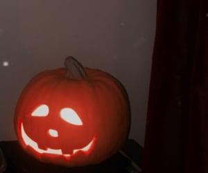 face, pumpkin, and Halloween image